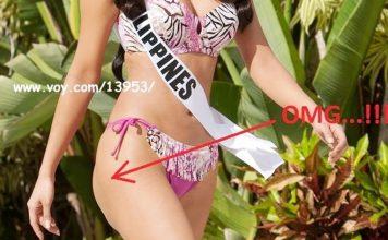Vòng ba bất thường của Hoa hậu Philippines gây tranh cãi